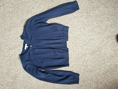 Debenhams Blue Zoo Girls Navy Cardigan Age 7-8  • 1.50£