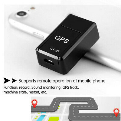 AU12.28 • Buy Mini GF-07 Magnetic Car Vehicle GSM GPRS GPS Tracker Locator Real Time Tracking