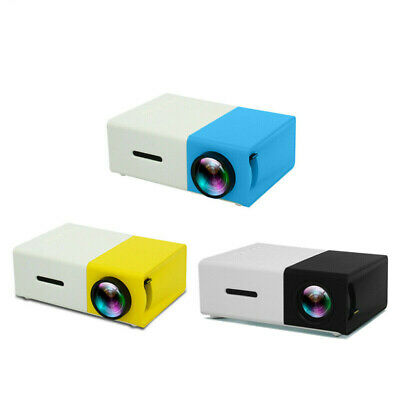 AU64.77 • Buy 1080P YG300 Home Cinema Theater USB HDMI AV SD Mini Portable HD LED Projector