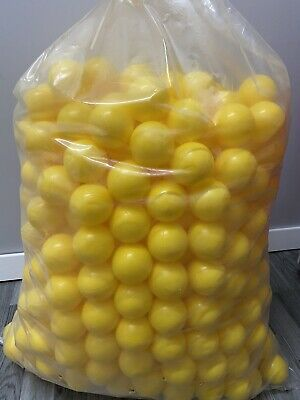 500 Brand New Soft Play Balls Plastic Ball Pit Pool Quality Commercial Grade 6cm • 40£