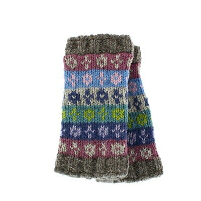 Pachamama 100% Wool Bloomsbury Handwarmers Multi-Coloured  • 15.95£