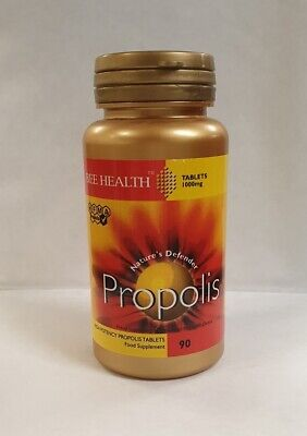 Bee Health 1000mg Propolis Tablets Food Supplement 90 Tablets • 10.36£