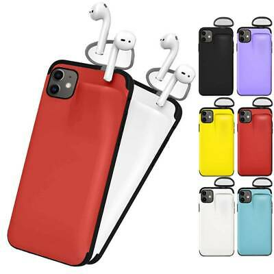 AU9.97 • Buy For IPhone 11 Pro Max 8 7 Plus X XS Max XR Storage Phone Case Cover With Airpods