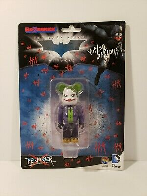 $31.59 • Buy Bearbrick The Joker Why So Serious 100% Authentic The Dark Knight MOC DEAL!!!