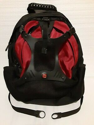 Swiss Army Gear Backpack Business Travel Hiking Bag Black Airflow Multi Layers • 24.58£