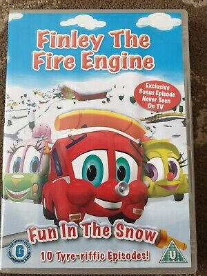 Finley The Fire Engine Fun In The Snow Dvd 10 Episodes Kids  • 7.99£