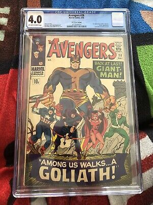 AU296.97 • Buy Avengers #28 CGC 4.0 1st App Of The Collector Marvel Comics 1966 Stan Lee Story
