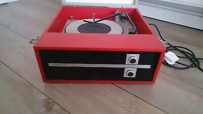COLLECTABLE, FIDELITY  HF45  MONO 4x SPEED, RECORD PLAYER (1970s). • 35£