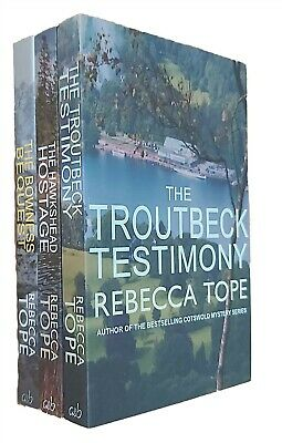 Rebecca Tope 3 Books Lake District Mystery Series Bowness Bequest No. 4 5 6 New • 9.99£