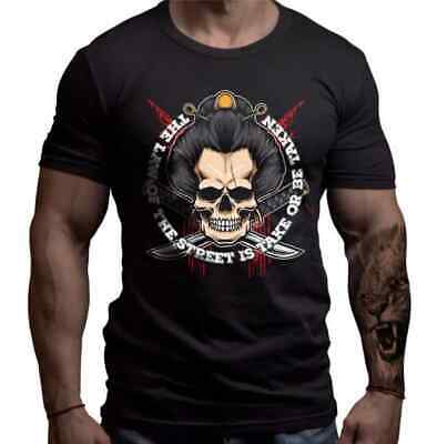 Born Lion Fight Wear MMA Clothes Yakuza Rules T-shirt Limited • 29£
