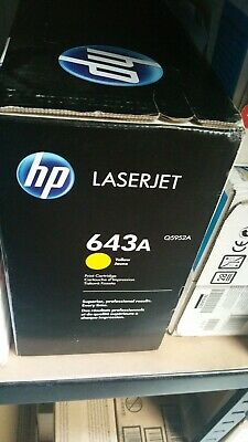 Genuine Q5952a Hp Laserjet 4700 Toner Cartridge Yellow • 60£
