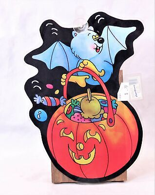 $ CDN8.23 • Buy Vintage Halloween  Bat/Pumpkin  Suction Cup Window Decoration