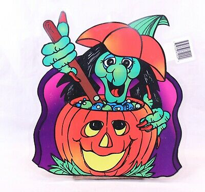 $ CDN6.11 • Buy Vintage Halloween  Witch  Suction Cup Window Decoration