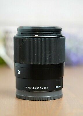 $ CDN315.02 • Buy Sigma 30mm F/1.4 DC DN Contemporary Lens For Sony E-mount Cameras With Caps