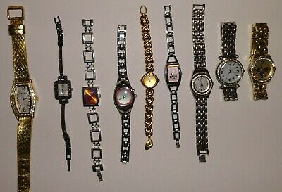 $ CDN13.39 • Buy Lot Of 9 Watches, Rumours, NY&C, Fossil Big Tic, Disney, Seiko