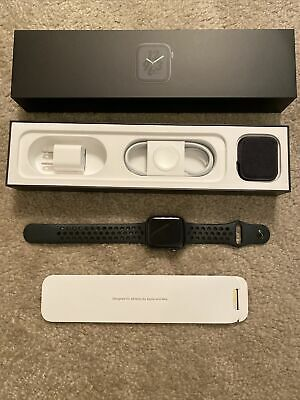 $ CDN354.12 • Buy Apple Watch Series 4 Nike+ 44 Mm Space Gray Aluminum Case With Anthracite/Black