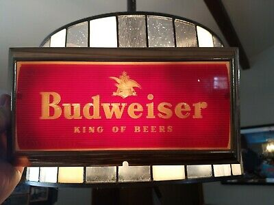 $ CDN52.25 • Buy VTG 1950s Budweiser Beer Light Up Sign Part Anheuser Busch