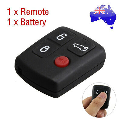 AU7.88 • Buy For Ford BA BF Falcon Sedan/Wagon Keyless Remote 4 Button Keypad Central Locking