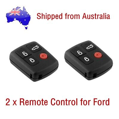 AU11.99 • Buy 2 X For Ford BA BF Falcon Sedan/Wagon Keyless Car Remote 4 Button Keypad Locking