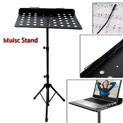 Heavy Duty Metal Foldable Music Stand Holder Tripod Orchestral Conductor Sheet • 11.96£