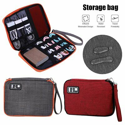 AU14.99 • Buy Electronic Accessories Cable Bag Organizer Travel Pouch Storage Cases Charger