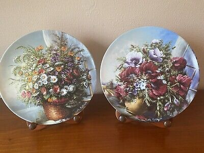 Classic Rose Rosenthal Group Germany Collectors Plate ERINNERUNG - MEMORY • 25£