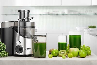 Blender Pressed Cold For Vegetables And Fruits Aicook 3 Speed Wide Mouth • 214.40£
