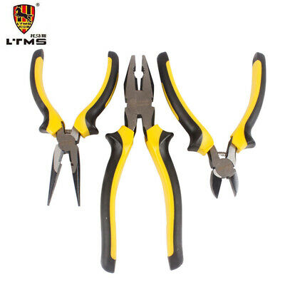 Electronic Cutting Plier Jewelry Wire Cable Cutter Side Snips Flush Pliers Tool • 7.59£