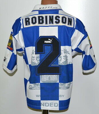 £39.99 • Buy Wigan Warriors 1990`s Rugby League Shirt Jersey Puma Robinson #2 Size S Adult