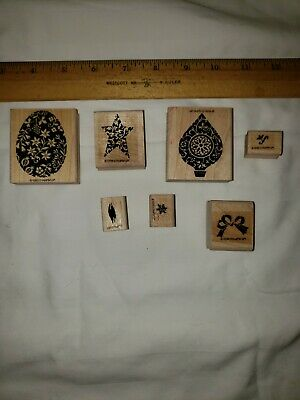 $ CDN6.69 • Buy Lots Of 7 Stampin Up Stamps