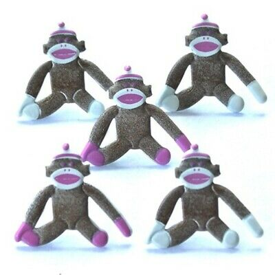 $1.99 • Buy Pink Sock Monkey Brads ** Final Qty ** See My Store ** Reduced