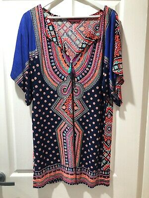 AU28 • Buy Tigerlily Kaftan, Size M, PERFECT USED CONDITION. Colours Are Amazing