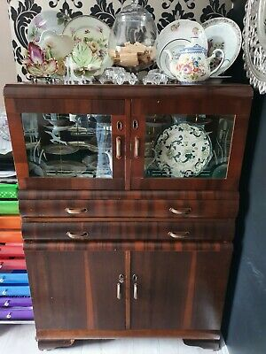 AU250 • Buy Antique Furniture, Cabinet,cupboard, Vintage, Restore, Storage, Old Fashioned
