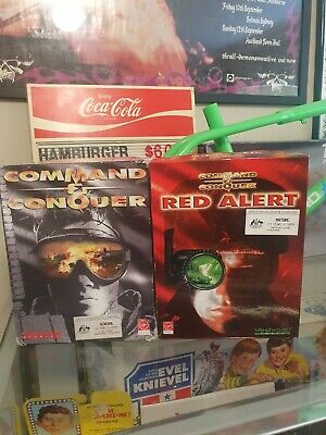 AU89 • Buy Command And Conquer Big Box Pc Games Computer Retro Vintage Windows 95