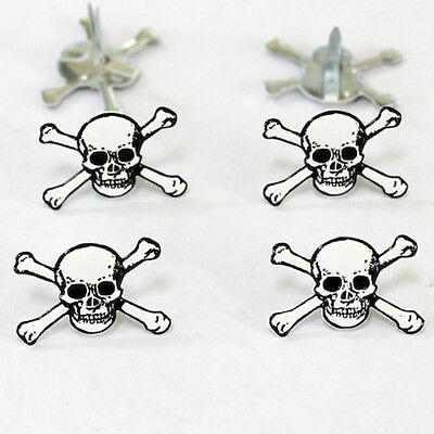 $2.25 • Buy Skull   Brads *  Eyelet Outlet  8 Pcs Pirate New