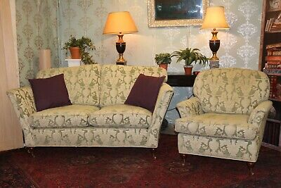 £1250 • Buy Duresta Ruskin Model 2 Seater Sofa And Armchair Suite RRP £5000 Still Selling