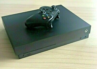 AU305 • Buy Xbox One X 1TB Black Home Console & Wireless Controller