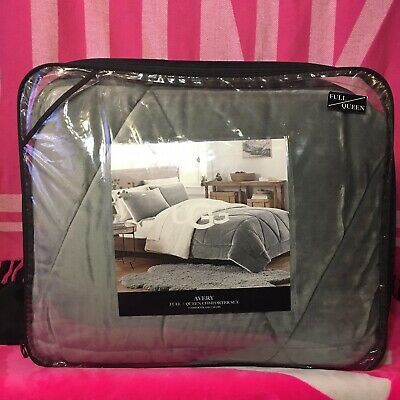 $ CDN164.52 • Buy UGG Avery Comforter Set Full / Queen Seal Gray NEW