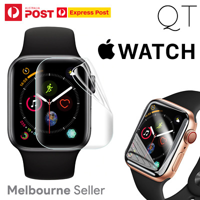 AU5.99 • Buy For Apple Watch 4/5/6/SE 44mm 40m Hydrogel Curved Screen Protector Cover Healing
