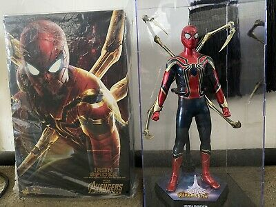 AU549 • Buy Hot Toys Spider-Man (Iron Spider) 1/6th Scale Collectible AVENGERS Infinity War