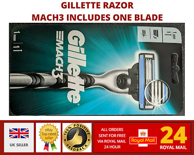 Gillette MACH3 Men's Razor Includes One Blade. • 5.49£