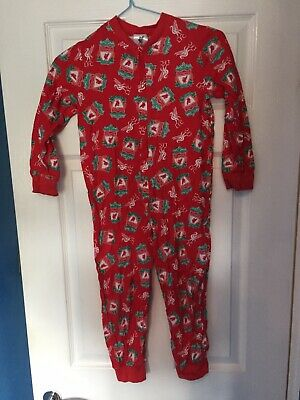 Liverpool FC All-in-one Pyjamas Ages 5-6 ** FLASH SALE ** • 2£