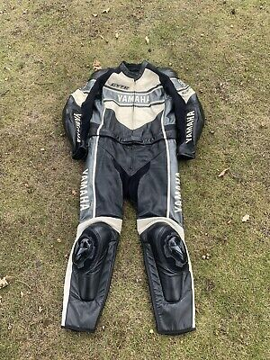 Genuine Dainese 2 Piece Race Suit Leathers Limited Edition Yamaha GYTR R1 1 Of20 • 275£