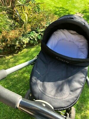 ICandy Cherry Pushchair & 2 Carrycots  (Black And Fudge) • 66£