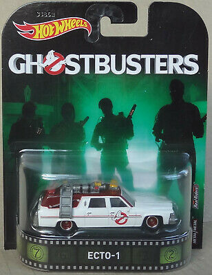 Hot Wheels Premium - Ghostbusters ECTO-1 1984 Cadillac DeVille - Real Riders • 14.99£