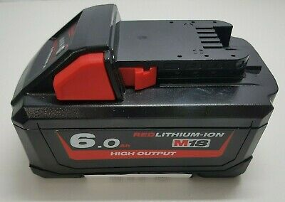 AU56 • Buy MILWAUKEE M18 HB6 6.0 Ah RED LI-ION HIGH OUTPUT POWER TOOL BATTERY BIDS FROM $1