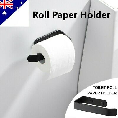 AU15.70 • Buy Wall Mounted Roll Paper Holder Drilling Bathroom Toilet Paper Holder Tissue Rack