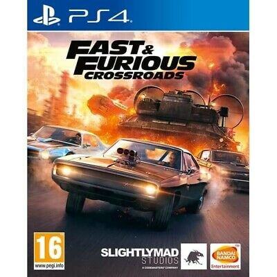 Fast & Furious Crossroads (PS4) NEW AND SEALED • 28£