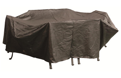 AU11.05 • Buy OFC901 155gsm Waterproof 220x110cm; Outdoor Furniture Setting Cover; Charcoal