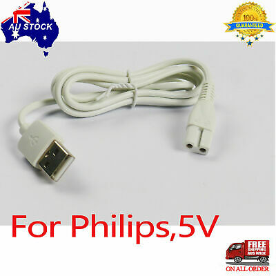 AU6.99 • Buy Charger Cable For Philips Electric Hair Ball Trimmer GC029 GC028 GC027 Charging